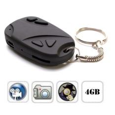 Hình ảnh Camera móc khóa và thẻ nhớ MicroSD 4GB PeepVN CK14 (Đen)