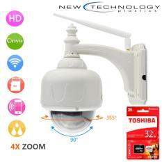 Bán Camera Ngoai Trời Chống Nước Vstarcam Zoom 4X Cao Cấp Va Thẻ Toshiba 32G Vstarcam Có Thương Hiệu