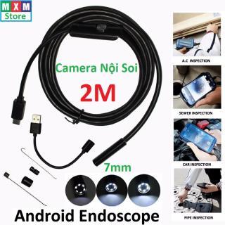 Camera nội soi chống nước(IP67) đường kính 7mm dài 2m siêu tiện ích thumbnail