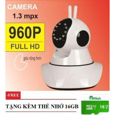 Bán Camera Pk11 Ip Wifi Xoay 360 Độ Độ Phan Giải 1 3Mp Full Hd 960P Tặng Thẻ Nhớ 16Gb Yoosee Nguyên