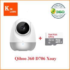 Camera Qihoo 360 Ip D706 Hồng Ngoại Xoay Thong Minh 1080P Thẻ 32Gb Class 10 Hồ Chí Minh Chiết Khấu