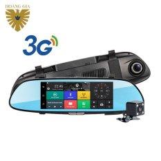 Giá Bán Camera Hanh Trinh Xe Hơi Gương Android 3G Dvr F1 Hoang Gia Mới Nhất