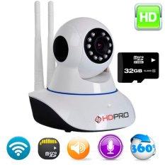 Bán Camera Smart Ip Wifi Hdpro Hdp 2000Ip Ptz Va Thẻ Nhớ 32Gb Hdpro Trực Tuyến
