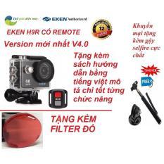 Bán Camera Thẻ Thao 4K Wifi Eken H9R Có Remote Version Mới Nhất 4 Tặng Kèm Gạy Selfire Va Kinh Lọc Đỏ Eken Trong Hà Nội