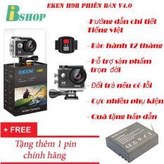 Cửa Hàng Camera Thể Thao Eken H9R 4K Ultra Hd Wifi Co Remote Phien Bản Mới Nhất 4 Tặng 1 Pin Zin 1050 Mah Bảo Hanh 12 Thang Eken Trực Tuyến