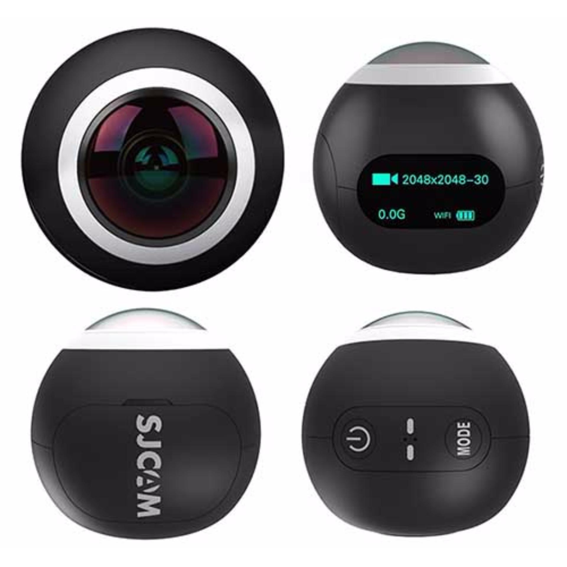 Camera Thể Thao Sjcam Sj360 Panorama Wifi 2K Giá Rẻ Dành Cho Dân Phượt