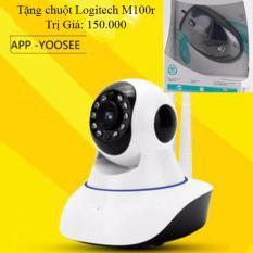Camera Wifi An Ninh Giam Sat Yoosee 2 Ăng Ten Tặng Chuột Quang Logitech M100R Mới Nhất