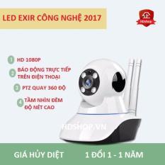 Bán Camera Wifi Ip Giam Sat Trong Nha Sieu Net Full Hd 1920X1080P Mẫu Mới Nhất 2016 Nhập Khẩu