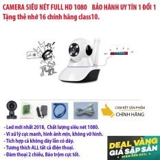 Chiết Khấu Sản Phẩm Camera Wifi Khong Day Sieu Net 1920 X 1080 Dong Sản Phẩm Cao Cấp Khuyến Mai Thẻ Nhớ 16G