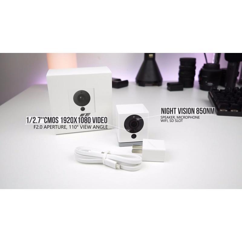 Camera Xiaofang IP 1080P HD bản quay đêm (có adapter)