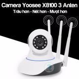 Chiết Khấu Camera Yoosee 3 Anten X8100 Phien Bản 2 Trau Hơn Ro Net Hơn Có Thương Hiệu