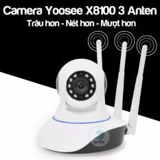 Mã Khuyến Mại Camera Yoosee 3 Anten X8100 Phien Bản 2 Trau Hơn Ro Net Hơn Detek Mới Nhất