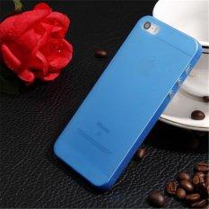 Kẹo Màu Trong Suốt Ốp Lưng Silicone Frosted Tpu Cho iPhone 7 (Xanh Dương)-quốc tế