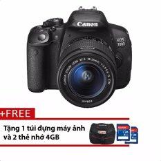 Canon 700D 18Mp Với Lens Kit 18 55Mm Is Stm 18Mp Đen Tặng 1 Tui Đựng May Ảnh Va 2 Thẻ Nhớ 4Gb Hang Phan Phối Chinh Thức Mới Nhất