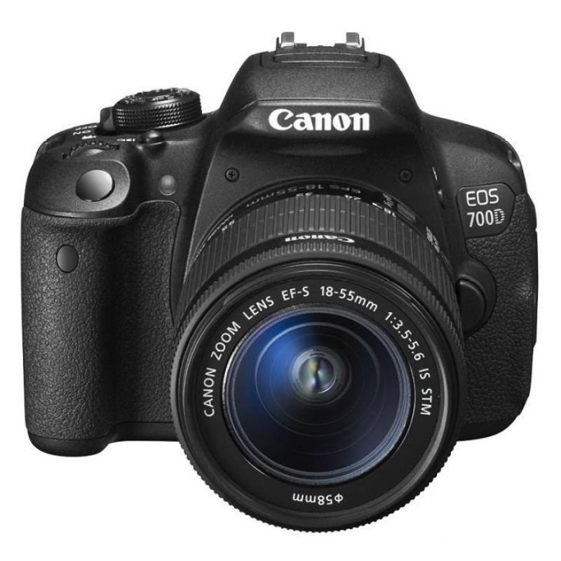 Canon EOS 700D 18MP với Lens KIT 18-55mm STM (Đen)