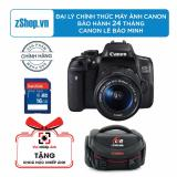 Bán Canon Eos 750D 24 2Mp Va Lens Kit 18 55Mm Is Stm Đen Chinh Hang Le Bảo Minh Tặng Khoa Học Nhiếp Ảnh Eos 1 Thẻ Nhớ 16Gb 1 Tui Canon