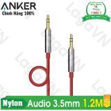 Cửa Hàng Cap Am Thanh Anker 3 5Mm Nylon Braided Auxiliary Audio Dai 1 2M Anker Trực Tuyến