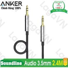 Ôn Tập Cap Am Thanh Anker 3 5Mm Soundline Audio Cable Dai 2 4M Hồ Chí Minh