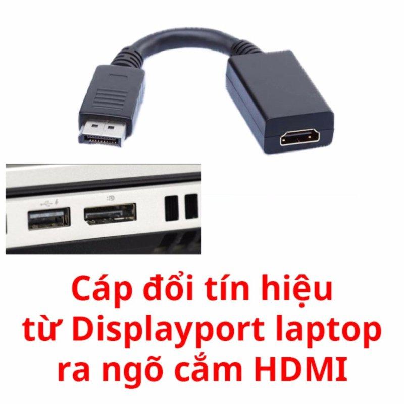Bảng giá Cáp chuyển displayport ra HDMI cho tivi (Đen) Phong Vũ