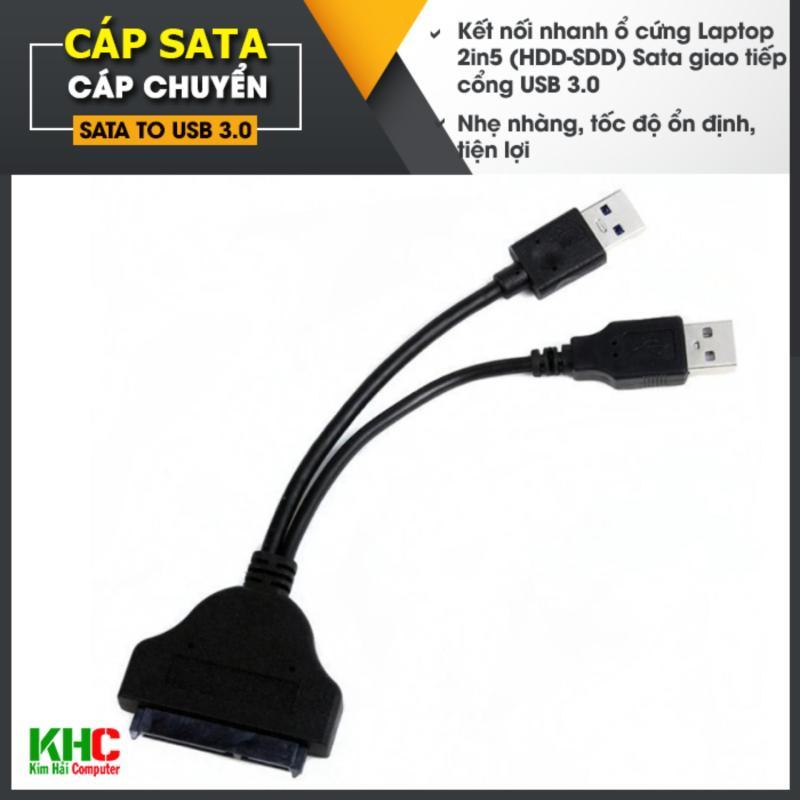 Bảng giá Cáp chuyển đổi USB 3.0 sang Sata cho ổ cứng 2in5 Phong Vũ
