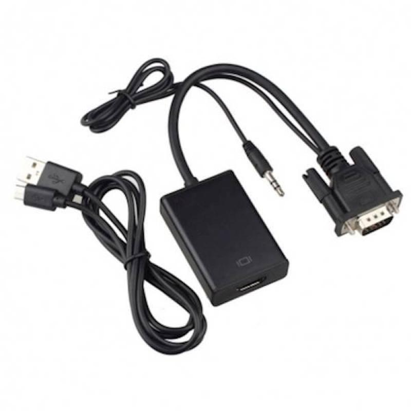 Bảng giá Cáp Chuyển Đổi VGA Audio To HDMI (Hỗ Trợ Full HDMI) HIỆU HDTV Phong Vũ