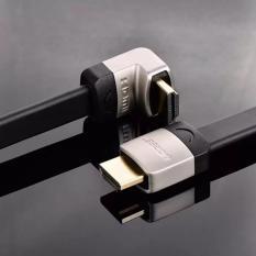 Hình ảnh Cáp HDMI 2M dẹt nghiêng góc 90 độ chính hãng Ugreen 10279