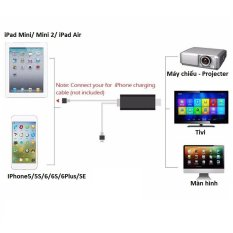 Mua Cap Hdmi Cho Iphone 5 Iphone 6 Kết Nối Tivi May Chiếu Oem Nguyên