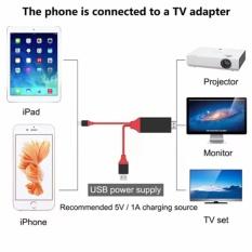 Bán Cap Kết Nối Tivi Với Iphone Ipad Hdtv Lightning Với Hdmi Bạn Sẽ Co Man Hinh Điện Thoại To Bằng Tivi Hà Nội