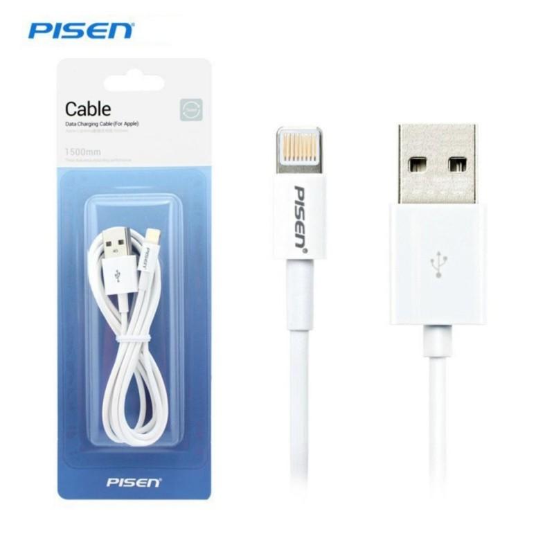 Cáp Lightning cho iPhone 5/6 - Pisen (Trắng)