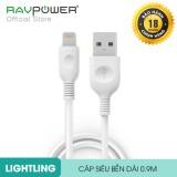 Bán Cap Lightning Ravpower Co Mfi Dai 9M Lc010 9M Hang Phan Phối Chinh Thức