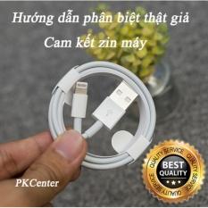 Hình ảnh Cáp Lightning zin máy iPhone 6s Plus, iPhone 6s, iPhone 6, iPhone 6 Plus Apple - PKCenter cam kết zin máy