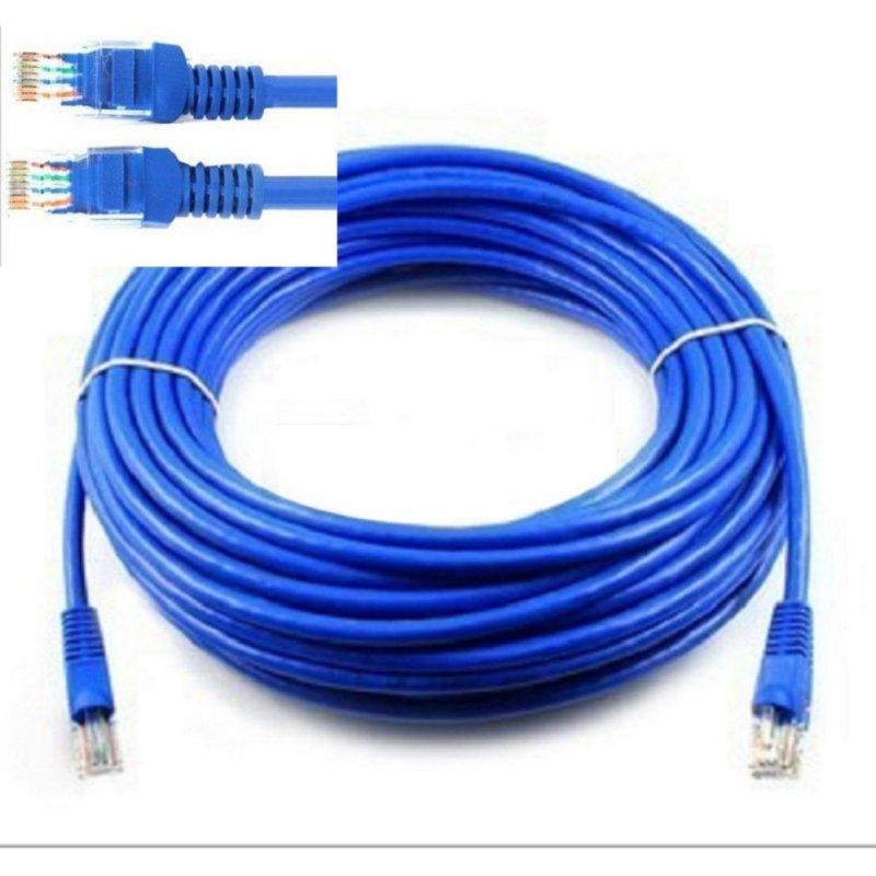Bảng giá Cáp mạng internet/mạng LAN Cat 5E 10m, 2 đầu bấm sẵn (TD) Phong Vũ