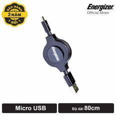 Giá Bán Cap Rut Energizer Micro Usb 80Cm Đen Nguyên Energizer
