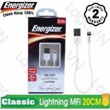 Cửa Hàng Cap Sạc Cao Cấp Energizer Lightning Mfi Dai 2M C12Ublibwh4 Rẻ Nhất