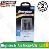 Chiết Khấu Cap Sạc Cao Cấp Energizer Micro Usb Metallic Alu Dai 1 2M C13Ubmcg Energizer Hồ Chí Minh