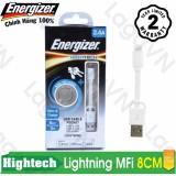 Cap Sạc Cao Cấp Energizer Pocket Lightning Mfi Bỏ Tui 8Cm C21Ubliawh4 Nguyên