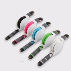 Hình ảnh Cáp Sạc Đa Năng Dây Rút 2 Đầu Chuẩn USB