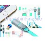 Bán Cap Sạc Day Rut Kingpad Cho Iphone 5 5S 5Se 6 6S Va Ipad Mini 4 Air Nhieu Mau Rẻ Nhất