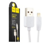 Cáp sạc lightning Hoco X1 dành cho iphone 5 trở lên - dài 2m (Trắng) - Hãng phân phối chính thức