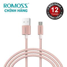 Giá Bán Cap Sạc Romoss Micro Cable Cao Cấp Cb05N Hồng 1M Hang Phan Phối Chinh Thức Rẻ