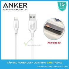 Cửa Hàng Cap Sạc Sieu Bền Anker Powerline Lightning 9M Trắng Kem Bao Da Hang Phan Phối Chinh Thức Vietnam