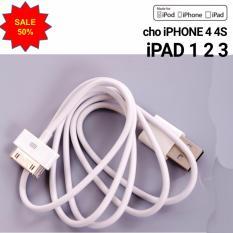 Bán Cap Sạc Zin Cho Iphone 3 4 4S Va Ipad 1 2 Mới