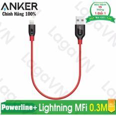 Bán Cap Sieu Bền Anker Powerline Lightning 3M Đỏ Mới