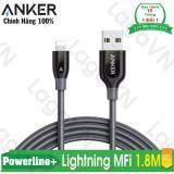 Giá Bán Cap Sieu Bền Anker Powerline Lightning 1 8M Xam Nguyên Anker