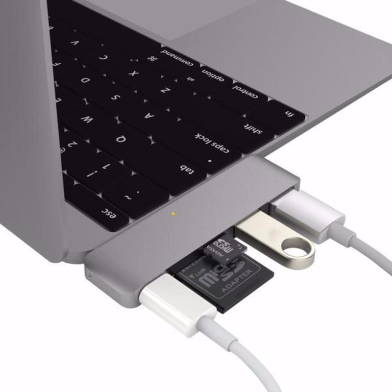 Bảng giá Cáp USB Type-C 5-in-1 Hub HyperDrive Phong Vũ
