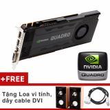 Giá Bán Card Man Hinh Chuyen Dựng Phim Cao Cấp Quadro K4000 3Gb Ddr5 192 Bit Qua Tặng Nvidia