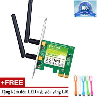 Card mạng thu WiFi TP-Link TL-WN881ND + Tặng đèn LED usb mã L01