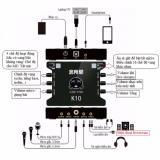 Cửa Hàng Card Sound Hat Karaoke Cắm Ngoai Usb Xox K10 Rẻ Nhất