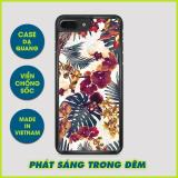 Mua Case Dạ Quang Iphone 6 Iphone 6S Iphone 7 Yocase Floral D0106 Ốp Lưng Dạ Quang Mới