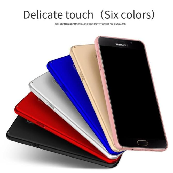 Case for Samsung Galaxy A7 (2016) A710 Ultra-thin Hard PC Full Body Smooth Grip Back Cover (Golden) - intl